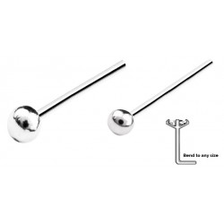 Silver Nose Stud Ball
