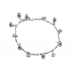 Rabbit Charms Anklet With Multi Bells