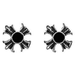 Iron Cross With Black Gem