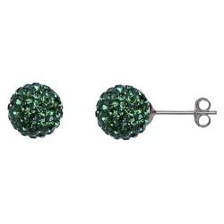 Emerald 10 mm Crystal  Shamballa