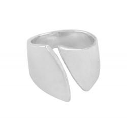 Adjustable Silver Thumb Cuff Ring