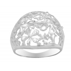 Filigree Flower  Cut Out Ring