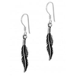 Feather Hook Earring