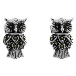Owl Stud Earring